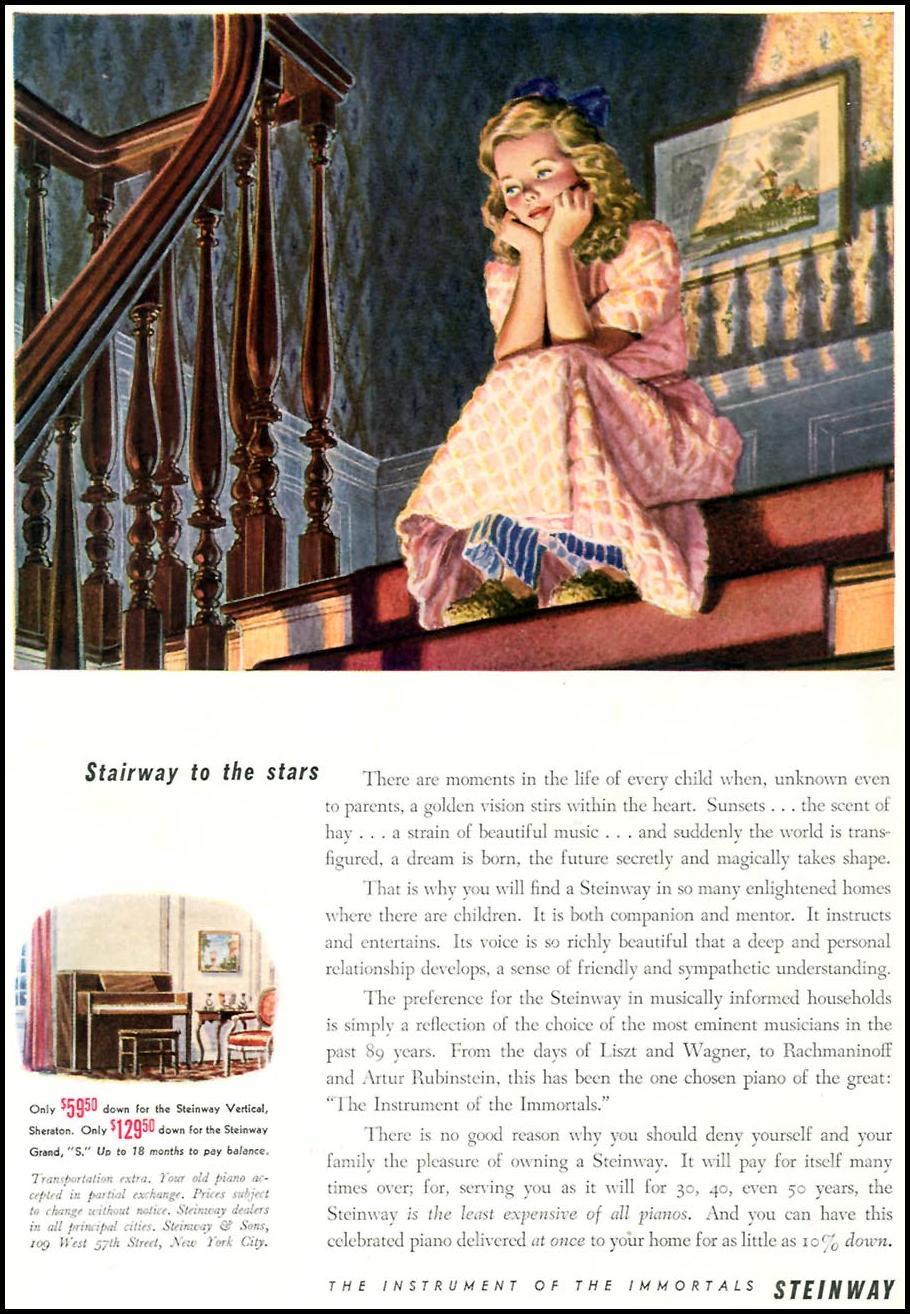 STEINWAY PIANOS TIME 02/16/1942 p. 65
