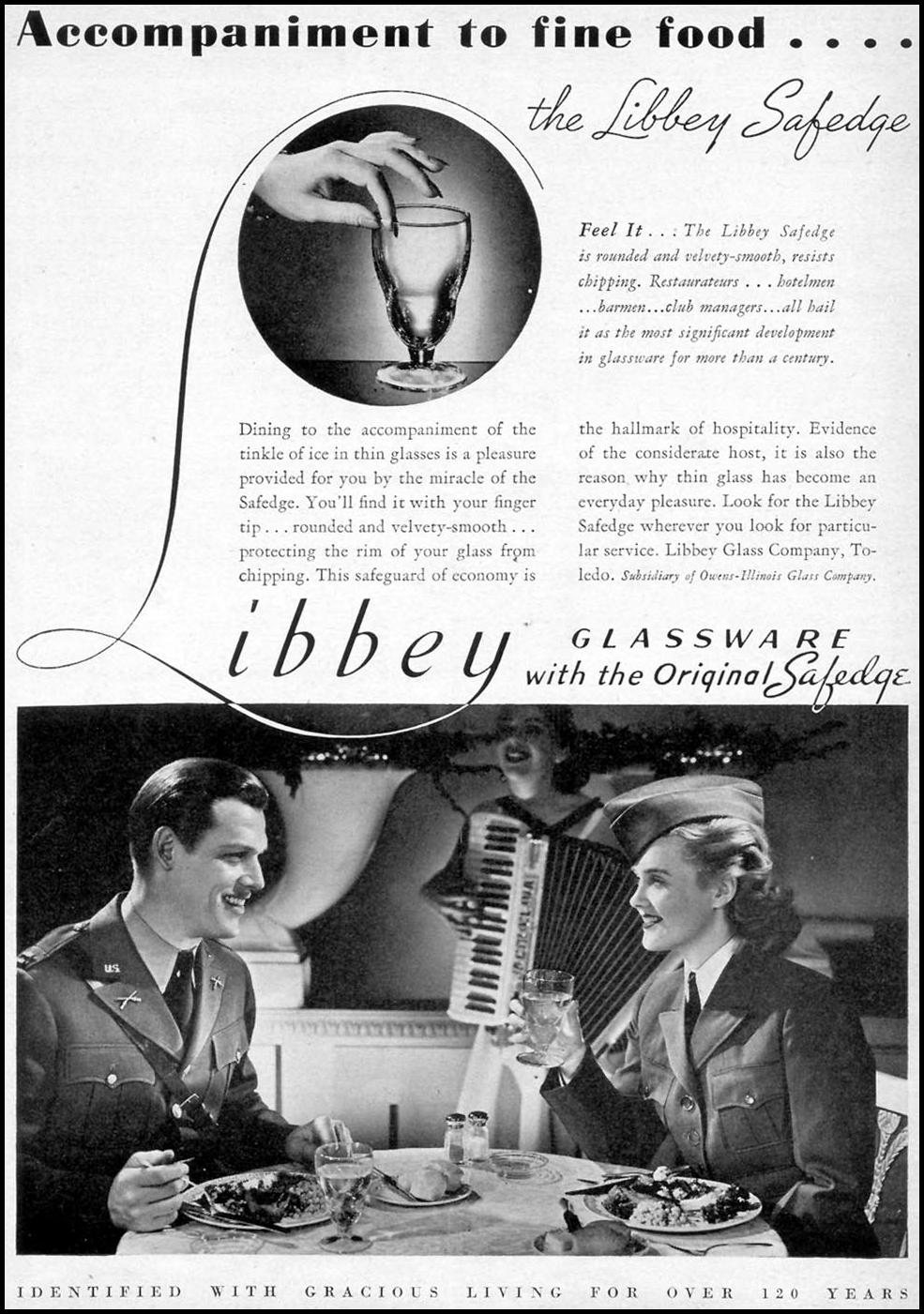 LIBBEY SAFEDGE GLASSWARE TIME 02/16/1942 p. 10
