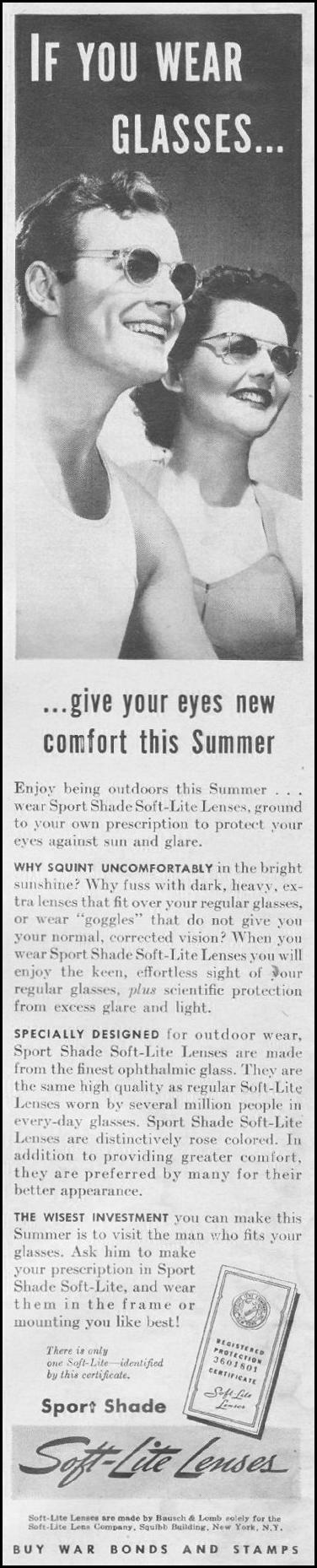 SOFT-LITE LENSES LIFE 06/22/1942 p. 2