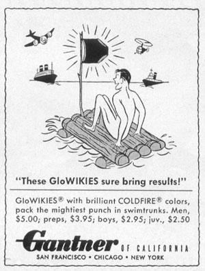 MEN'S SWIM TRUNKS LIFE 06/16/1952 p. 104