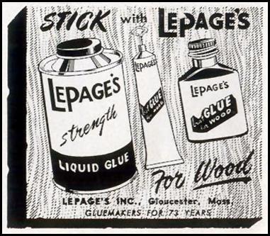 LEPAGE'S GLUE LIFE 02/02/1953 p. 92