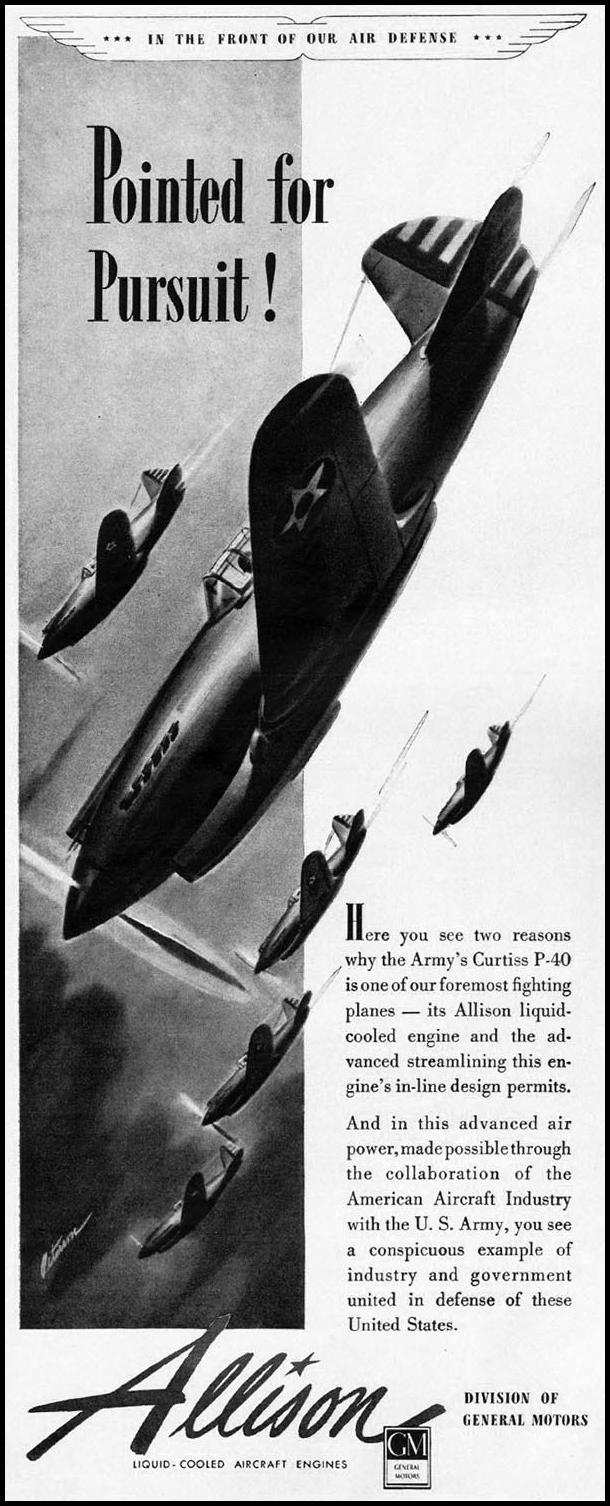 ALLISON AIRCRAFT ENGINES LIFE 04/28/1941 p. 8