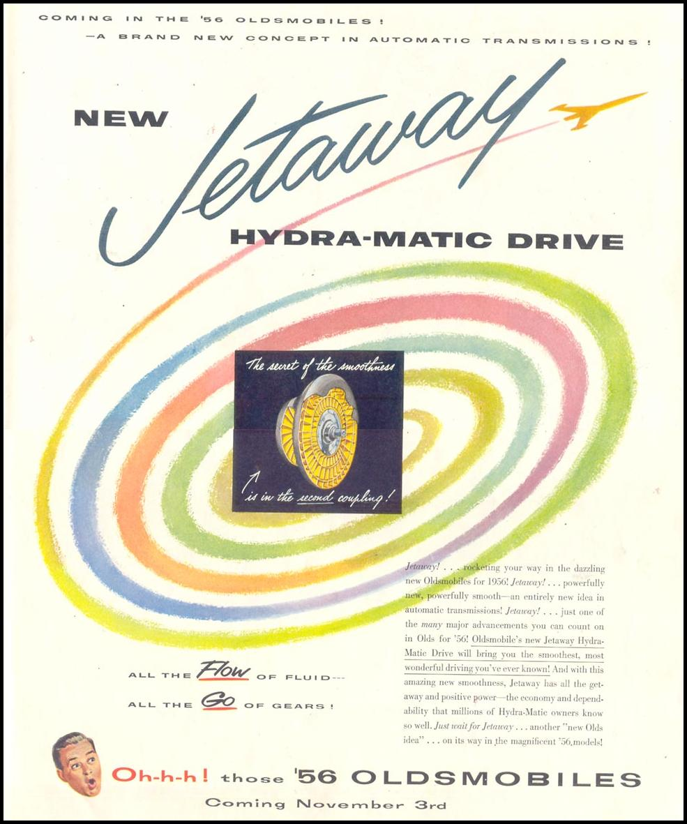 JETAWAY HYDRA-MATIC DRIVE LIFE 10/29/1955