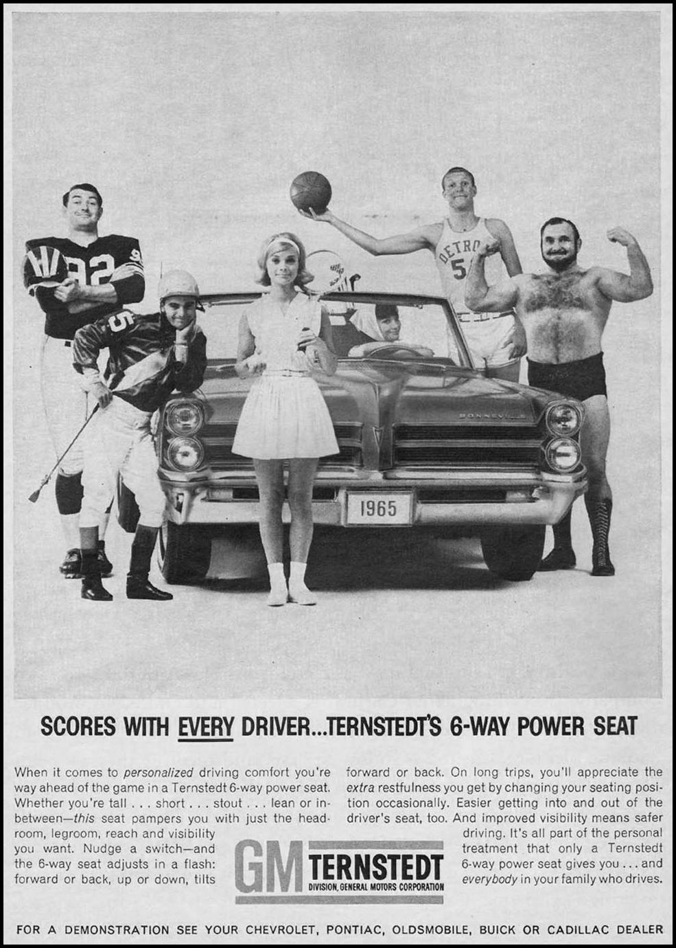 TERNSTEDT 6-WAY POWER SEAT NEWSWEEK 10/12/1964