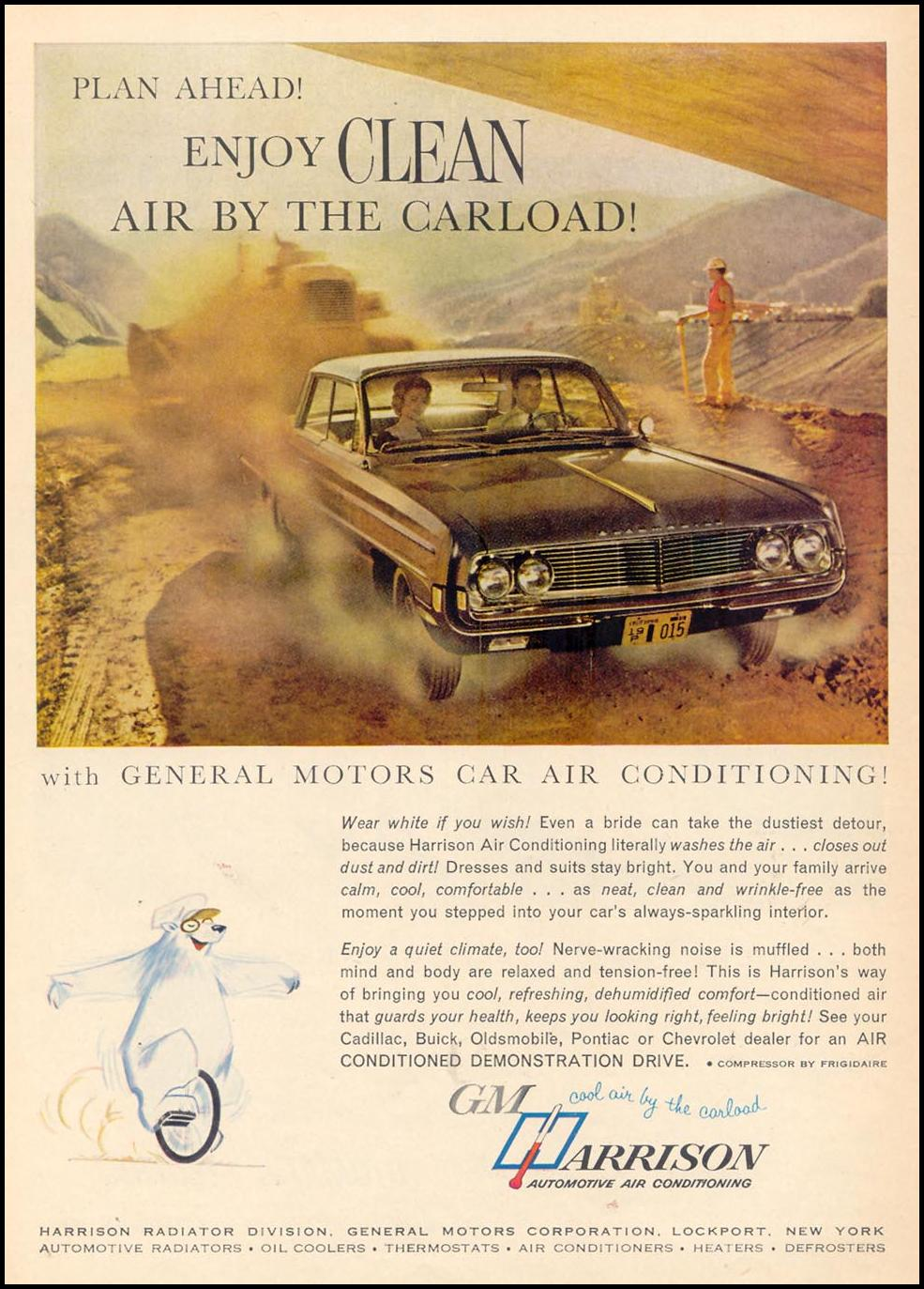 GENERAL MOTORS CAR AIR CONDITIONING TIME 02/23/1962 p. 108