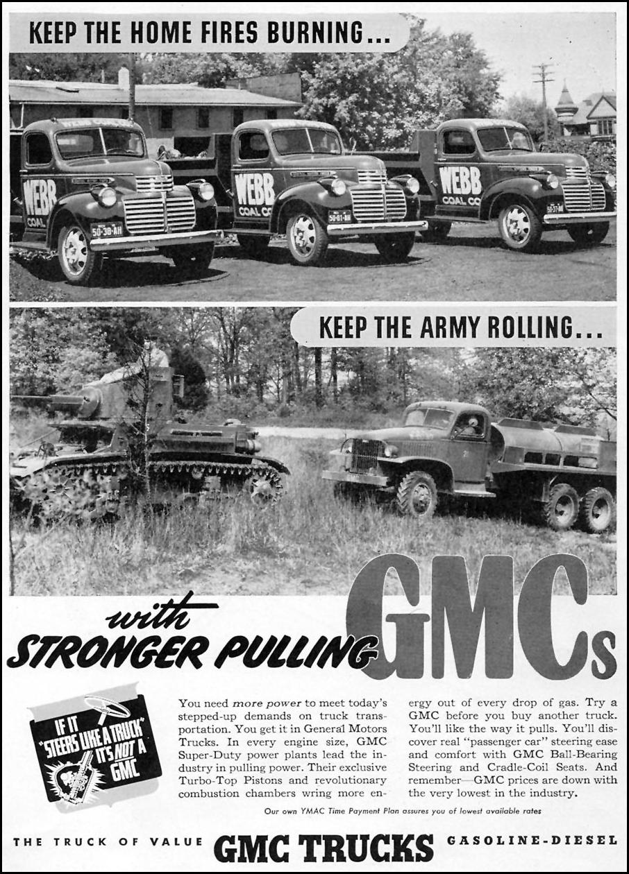 GMC TRUCKS TIME 01/12/1942 p. 60