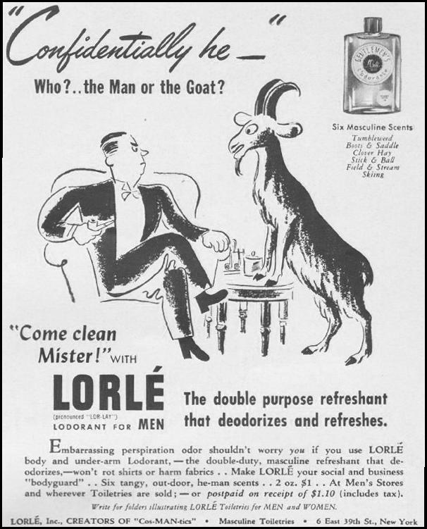 LORLE LODORANT FOR MEN LIFE 06/22/1942 p. 81