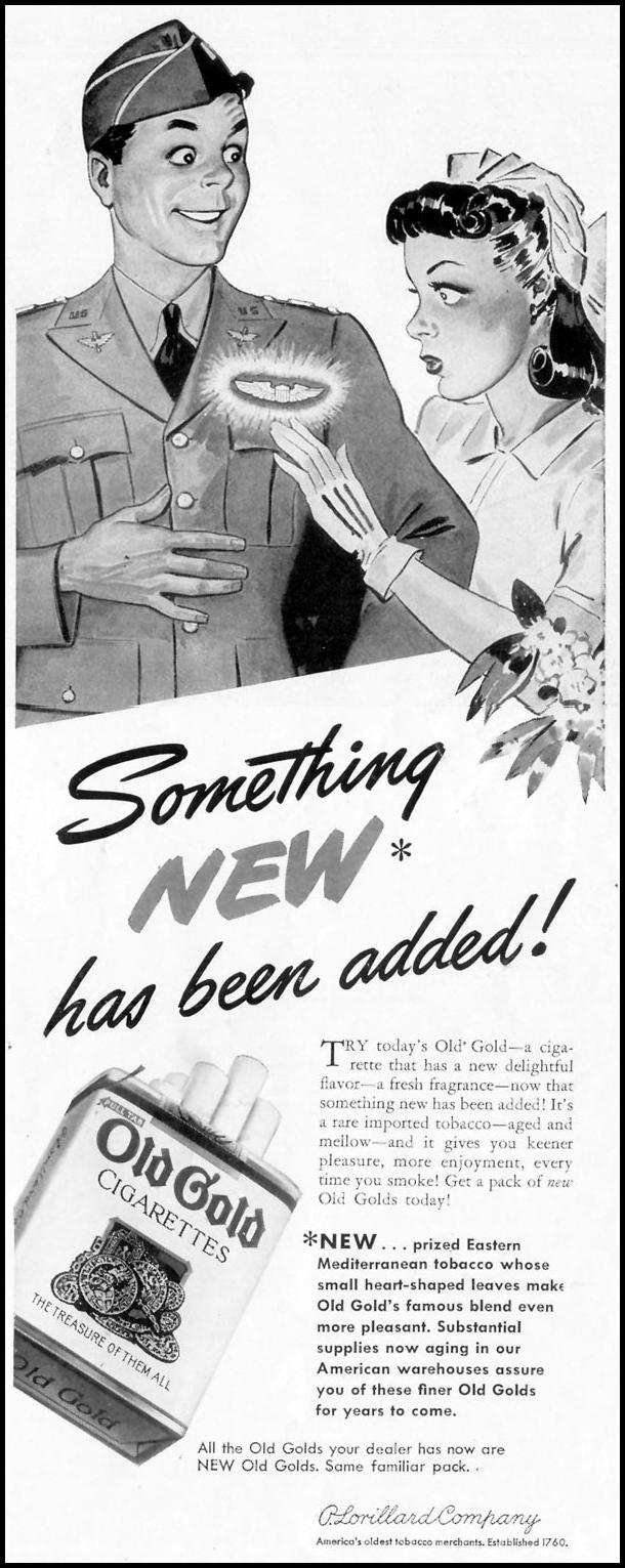 OLD GOLD CIGARETTES LIFE 06/23/1941 p. 55