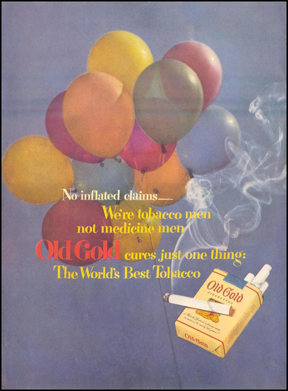 OLD GOLD CIGARETTES LIFE 07/30/1951 p. 32