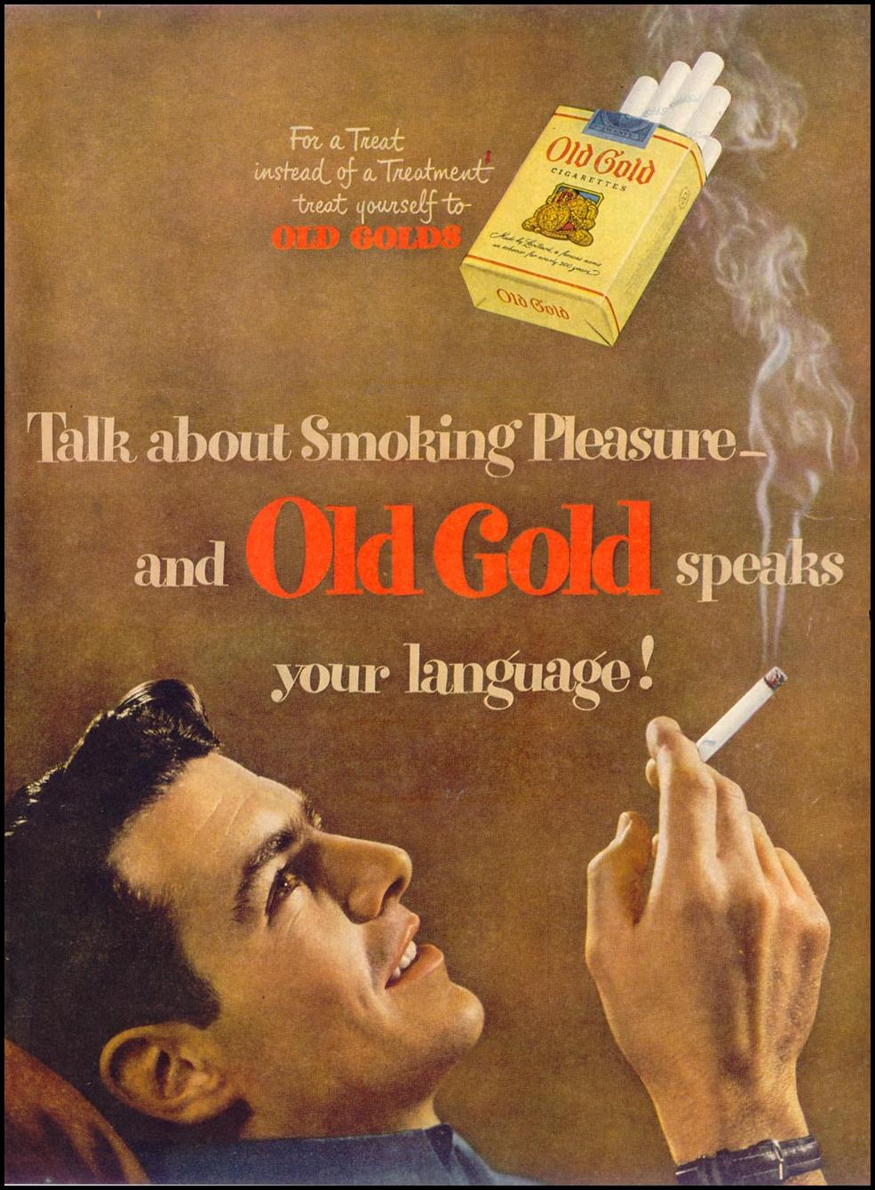 OLD GOLD CIGARETTES LIFE 11/15/1948