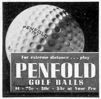 PENFOLD GOLF BALLS LIFE 07/18/1938 p. 68