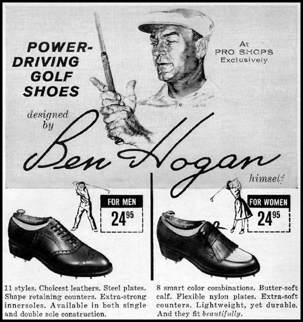 BEN HOGAN GOLF SHOES SPORTS ILLUSTRATED 05/11/1959 p. 99