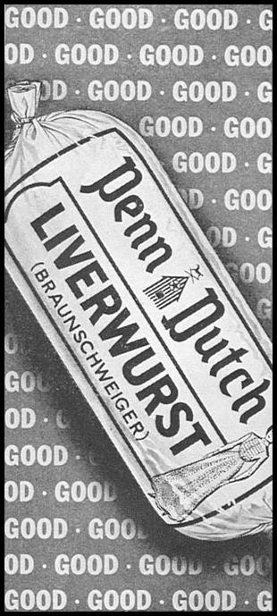 PENN DUTCH BRAUNSCHWEIGER WOMAN'S DAY 09/01/1955 p. 134