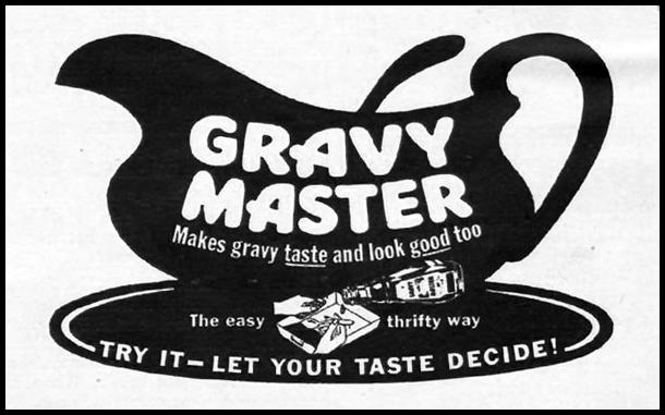 GRAVY MASTER WOMAN'S DAY 01/01/1949 p. 105