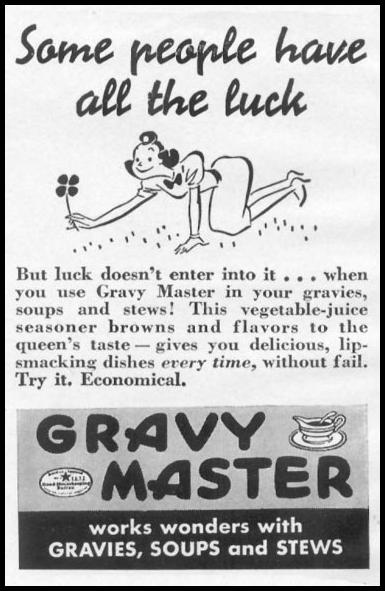 GRAVY MASTER WOMAN'S DAY 04/01/1941 p. 48