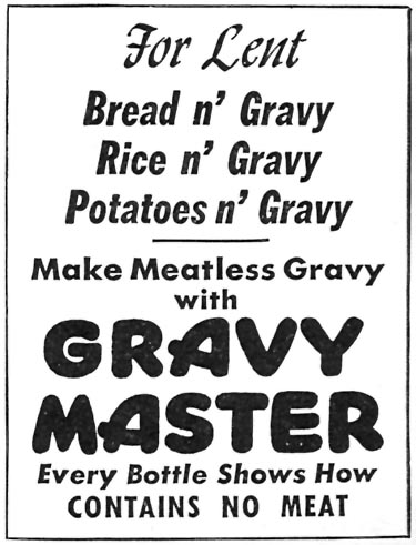 GRAVY MASTER WOMAN'S DAY 04/01/1946 p. 95