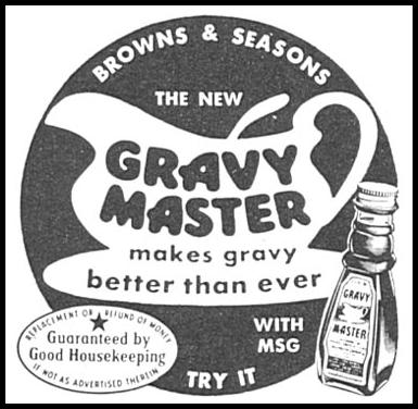 GRAVY MASTER WOMAN'S DAY 04/01/1956 p. 128