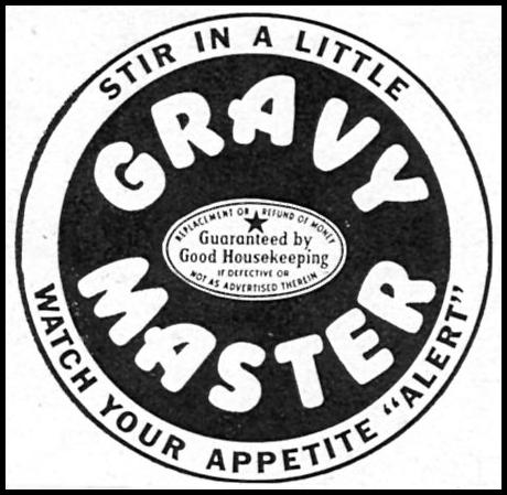GRAVY MASTER WOMAN'S DAY 05/01/1946 p. 76