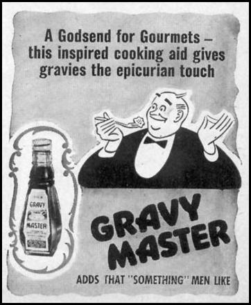 GRAVY MASTER WOMAN'S DAY 05/01/1947 p. 117