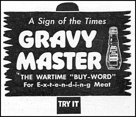 GRAVY MASTER WOMAN'S DAY 06/01/1943 p. 67