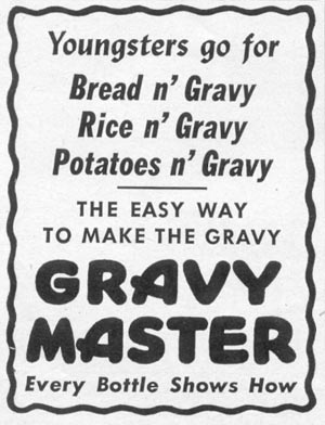 GRAVY MASTER WOMAN'S DAY 06/01/1946 p. 74