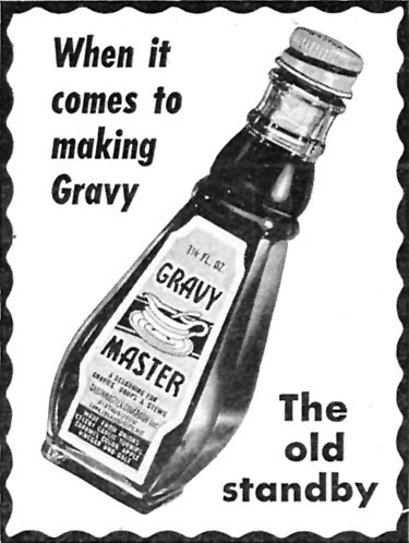 GRAVY MASTER WOMAN'S DAY 07/01/1946 p. 75