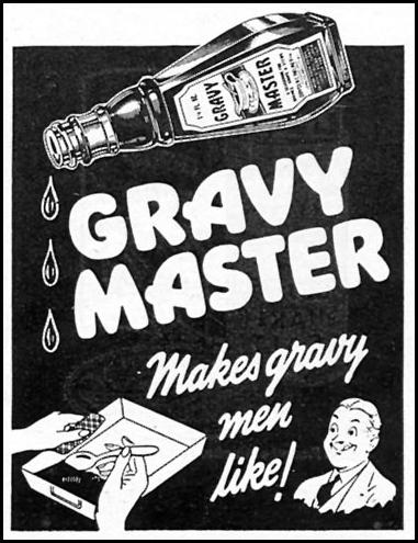 GRAVY MASTER WOMAN'S DAY 09/01/1945 p. 83