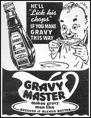 GRAVY MASTER WOMAN'S DAY 09/01/1949 p. 104