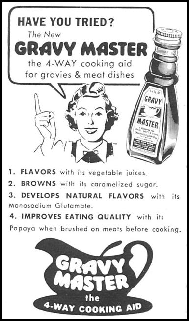 GRAVY MASTER WOMAN'S DAY 09/01/1955 p. 132