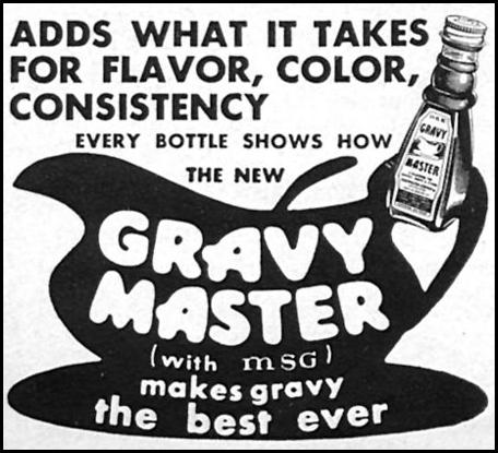 GRAVY MASTER WOMAN'S DAY 10/01/1956 p. 126
