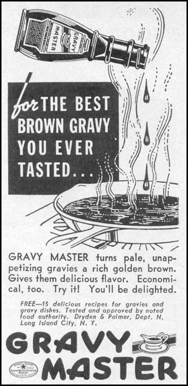 GRAVY MASTER WOMAN'S DAY 11/01/1938 p. 41