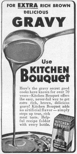 KITCHEN BOUQUET WOMAN'S DAY 12/01/1948 p. 94