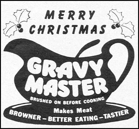 GRAVY MASTER WOMAN'S DAY 12/01/1954 p. 133