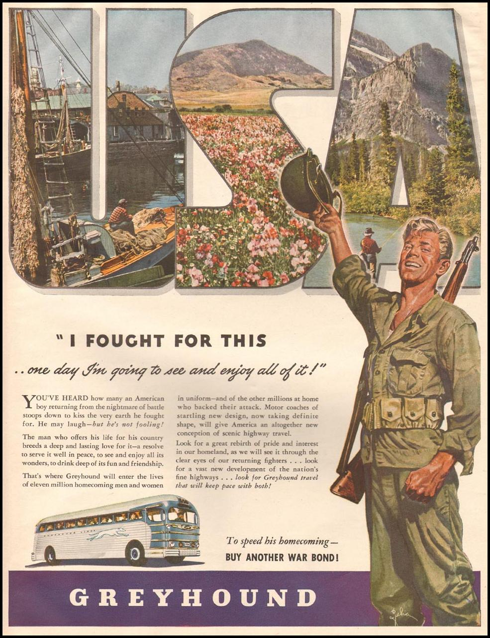 BUS TRAVEL LIFE 10/23/1944
