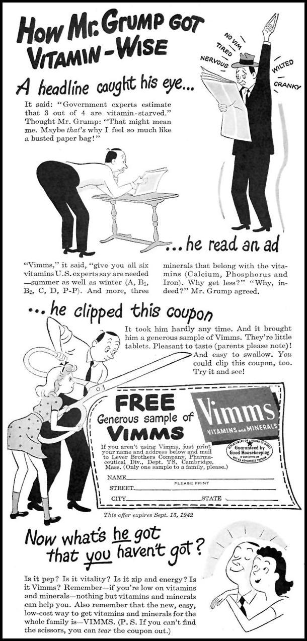 VIMMS VITAMINS TIME 08/17/1942 p. 36