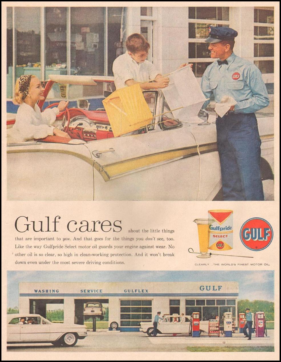 GULFPRIDE MOTOR OIL LIFE 10/05/1959