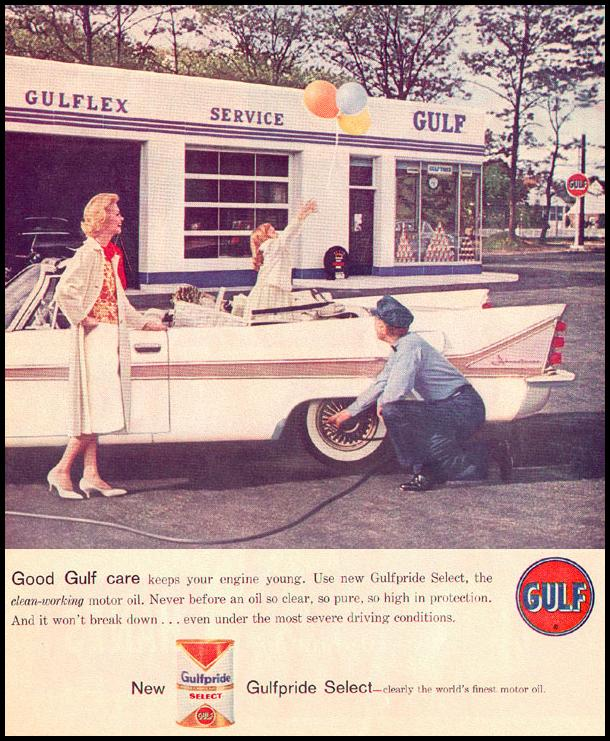 GULFPRIDE MOTOR OIL LOOK 09/16/1958