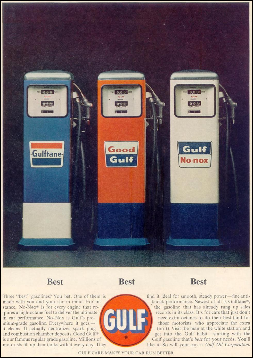 GULF NO-NOX GASOLINE TIME 05/03/1963