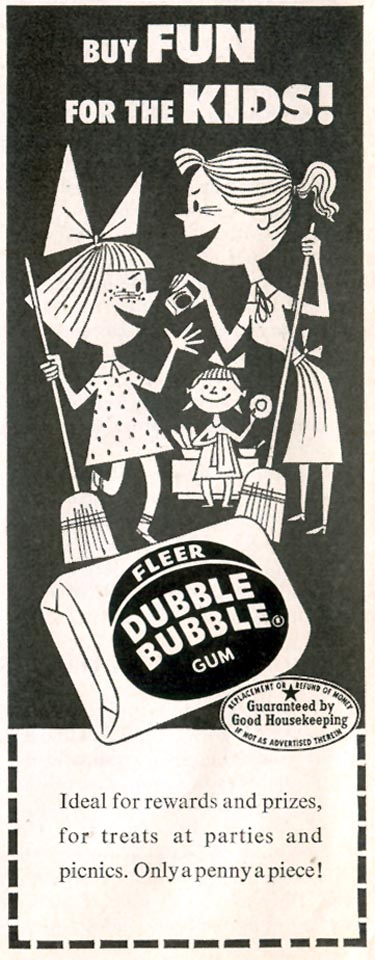 FLEER DUBBLE BUBBLE GUM LIFE 04/13/1953 p. 174