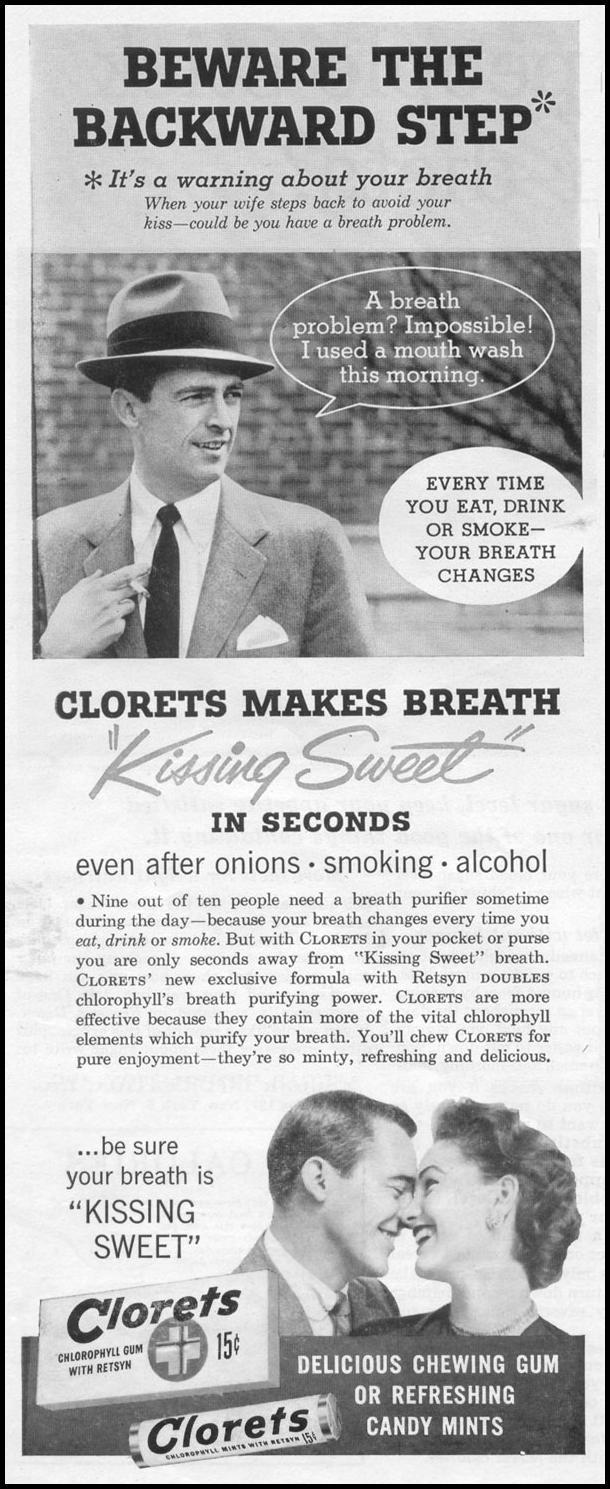 CLORETS GUM LIFE 07/12/1954 p. 88
