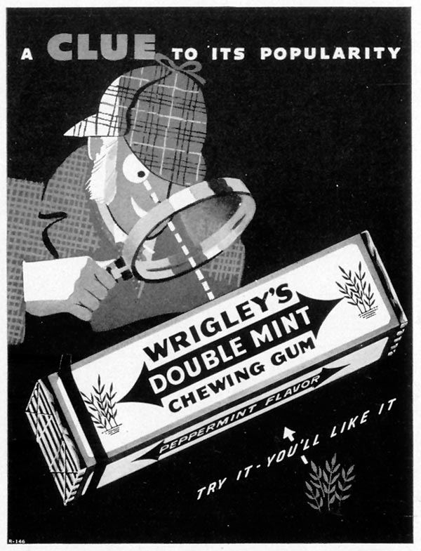 WRIGLEY'S DOUBLE MINT CHEWING GUM LIFE 07/26/1937 p. 17