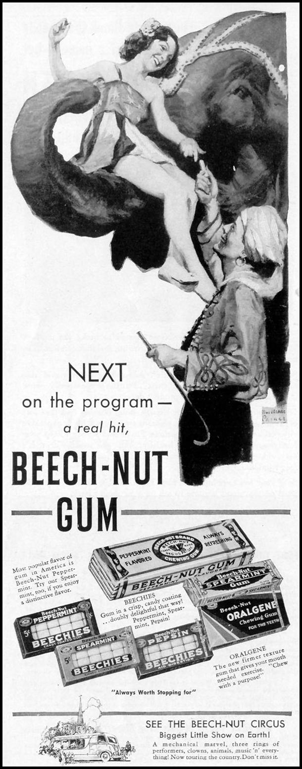 BEECH-NUT CHEWING GUM LIFE 07/26/1937 p. 80