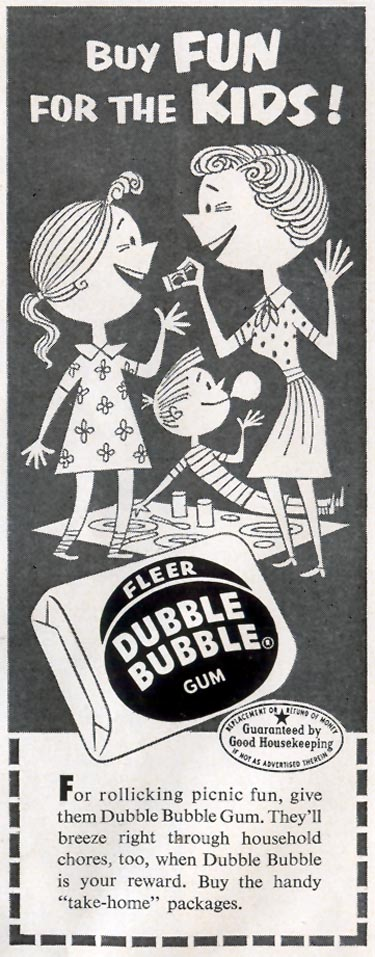 DUBBLE BUBBLE CHEWING GUM LIFE 08/17/1953 p. 88