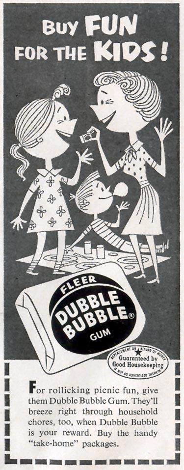 DUBBLE BUBBLE CHEWING GUM LIFE 08/17/1953 p. 88
