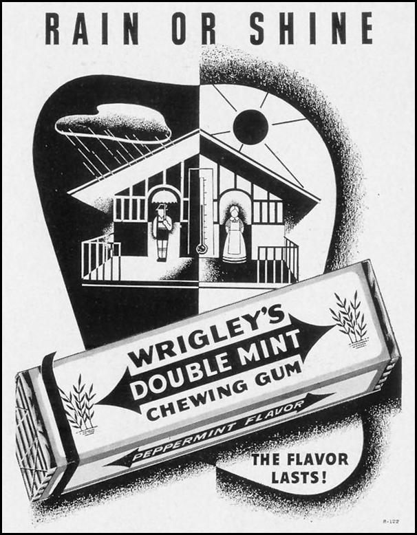 WRIGLEY'S DOUBLE MINT CHEWING GUM LIFE 09/27/1937 p. 23