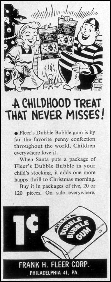 DUBBLE BUBBLE GUM LIFE 12/24/1951 p. 62