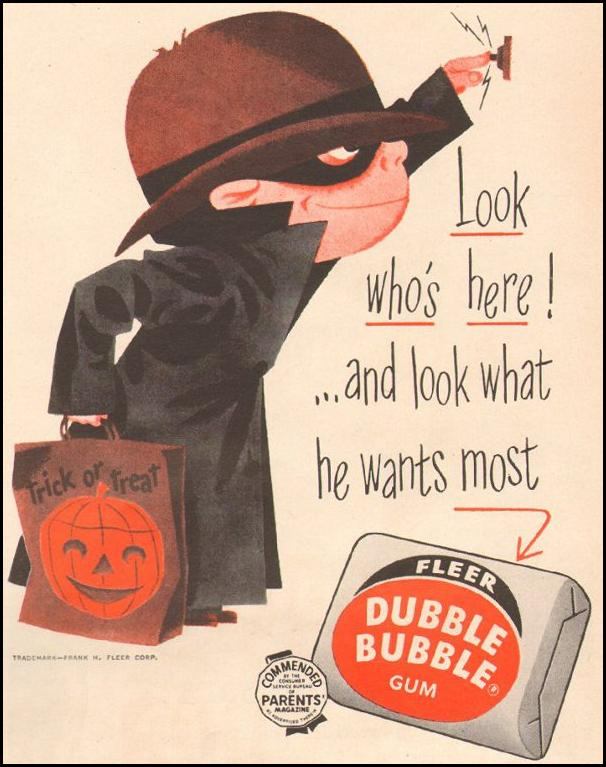 FLEER DUBBLE BUBBLE GUM LOOK 10/29/1957 p. 99