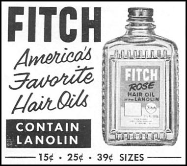 FITCH HAIR OIL WOMAN'S DAY 09/01/1955 p. 96