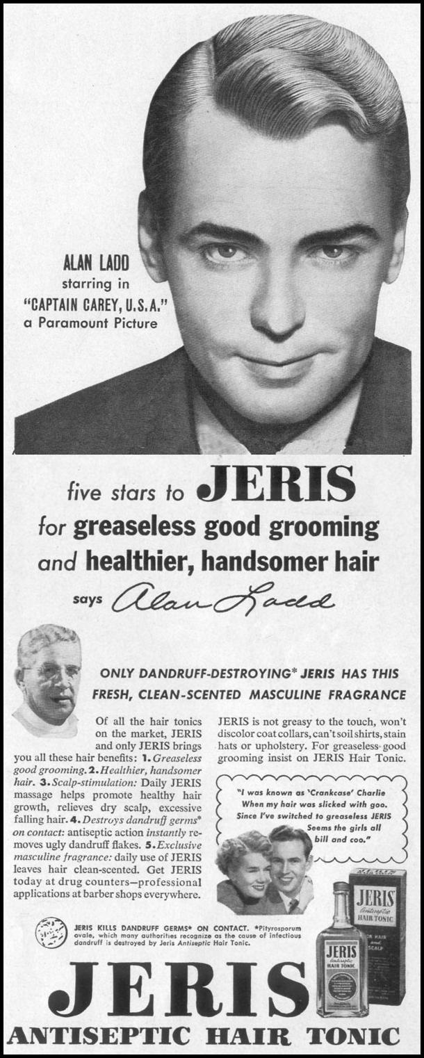JERIS HAIR TONIC LIFE 06/05/1950 p. 19