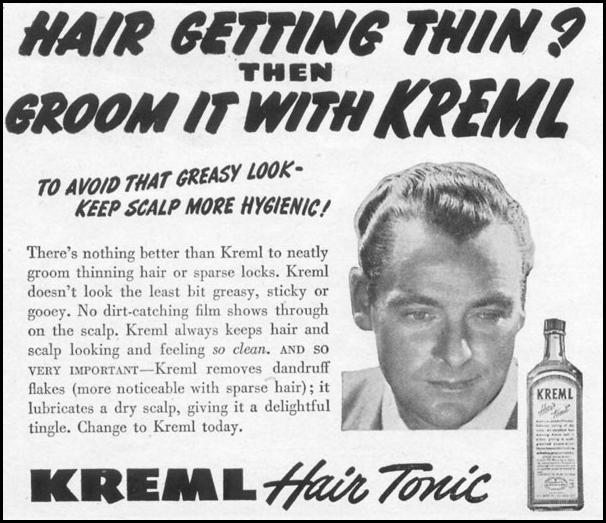 KREML HAIR TONIC LIFE 06/05/1950 p. 122